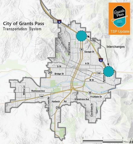 City of Grants Pass map