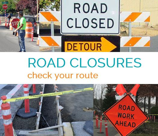 Road Closures Check Your Route