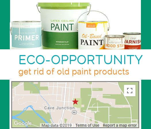 Environmental and Recycling - Paint Drop Off