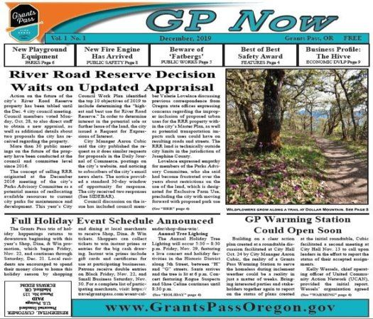 GP Now Dec. 2019 front page