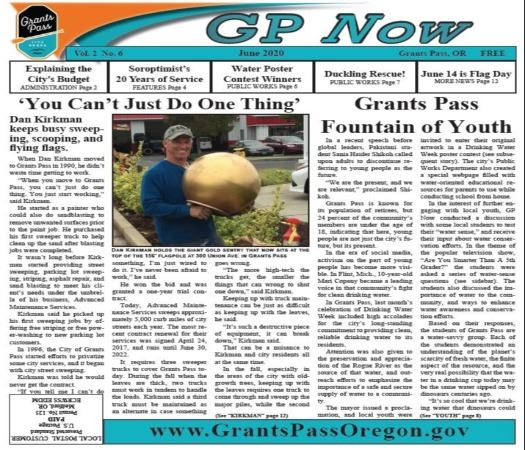 GP Now June Cover