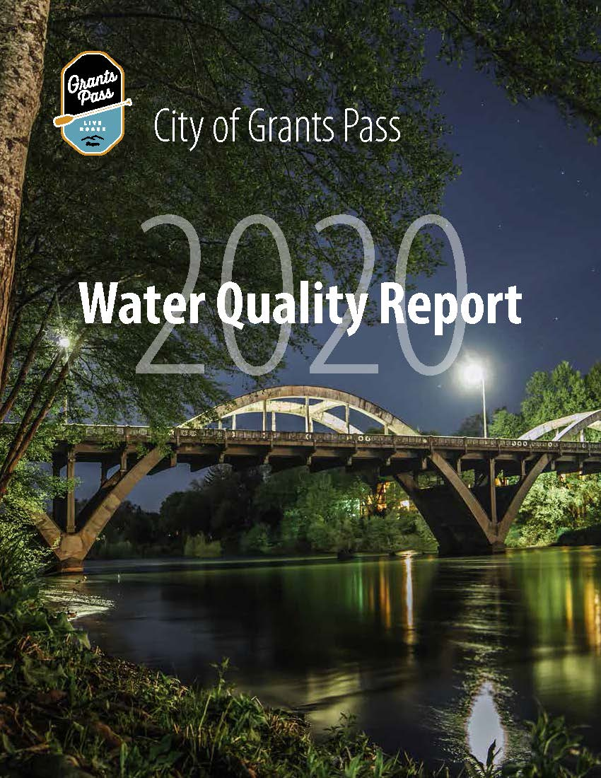 2020 Water Quality Report Cover