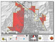 North Grants Pass Wildfire Hazard Zones