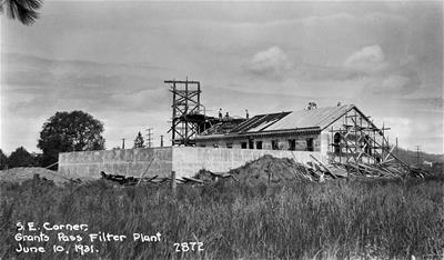 Water Plant Construction 1931
