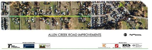 Allen Creek Road Improvements Project Image