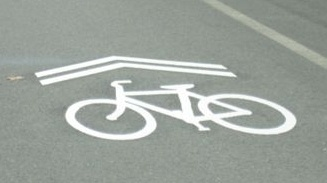 Share the Road Marking