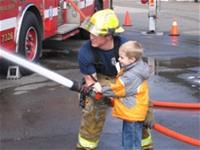 Firefighter Intern Joshua Mathewson